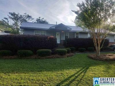 Pleasant Grove AL Single Family Home For Sale: $89,000