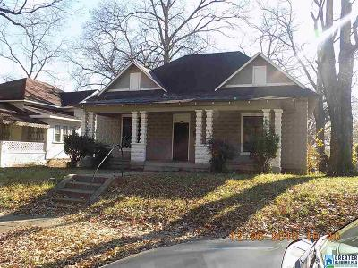 Birmingham Single Family Home For Sale: 2545 28th St