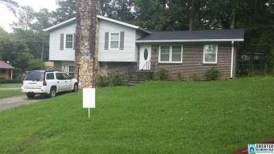 Birmingham AL Single Family Home For Sale: $105,900