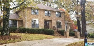 Mountain Brook Single Family Home For Sale: 4912 Spring Rock Rd