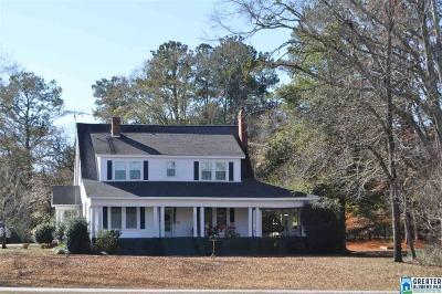 Wedowee Single Family Home For Sale: 1484 S Main St