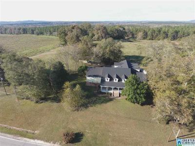 Calhoun County, Chambers County, Clay County, Cleburne County, Coosa County, Randolph County, Talladega County, Tallapoosa County Farm For Sale: 20665 Hwy 50