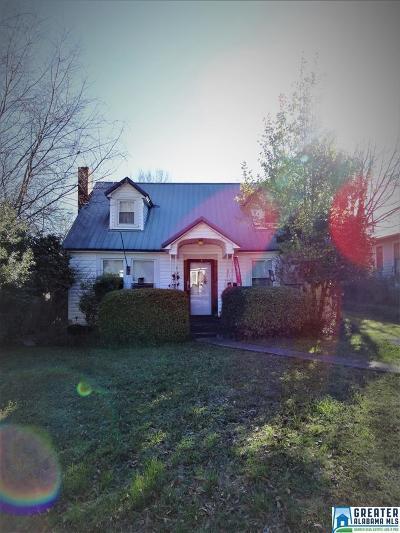 Talladega Single Family Home For Sale: 704 Central Ave