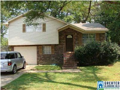 Fultondale AL Single Family Home For Sale: $122,877