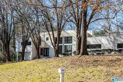 Mountain Brook Single Family Home For Sale: 3420 Oak Canyon Dr