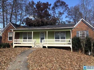 Birmingham AL Single Family Home For Sale: $69,900