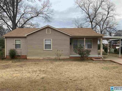 Talladega Single Family Home For Sale: 710 Cherokee St