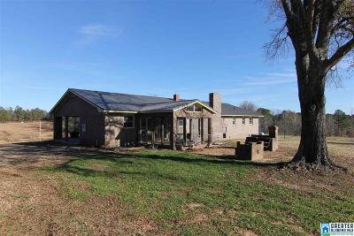 Calhoun County, Chambers County, Clay County, Cleburne County, Coosa County, Randolph County, Talladega County, Tallapoosa County Farm For Sale: 2341 B Co Rd 156