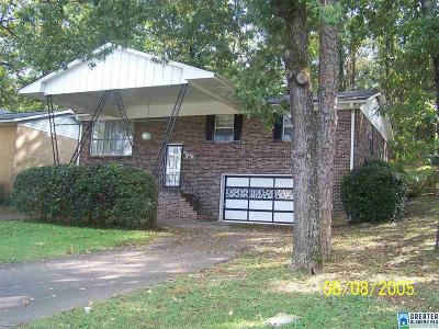 Birmingham Single Family Home For Sale: 1509 Tarrant Huffman Rd