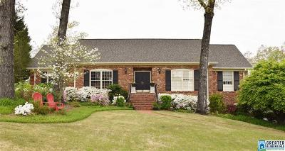 Mountain Brook Single Family Home For Sale: 4462 Briarglen Dr