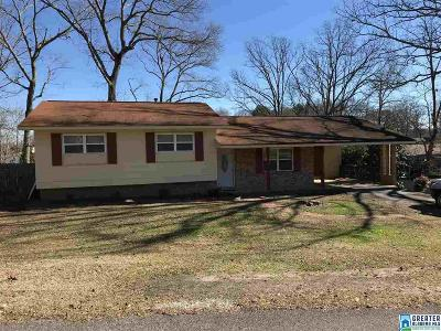 Anniston Single Family Home For Sale: 5913 Kalyn Dr