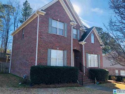 Hoover Single Family Home For Sale: 5721 Willow Lake Dr