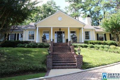 Mountain Brook Single Family Home For Sale: 3836 Glencoe Dr