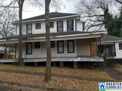 Birmingham AL Multi Family Home For Sale: $75,000