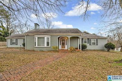 Talladega Single Family Home For Sale: 904 East St N