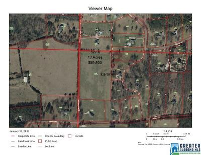 Residential Lots & Land For Sale: Talladega Creek Rd
