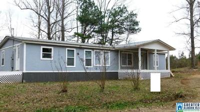Cleburne County Manufactured Home For Sale: 1962 Co Rd 852