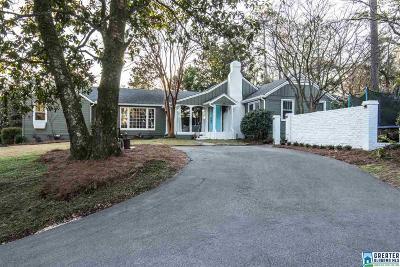 Mountain Brook AL Single Family Home For Sale: $639,000