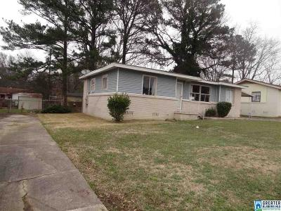 Birmingham AL Single Family Home For Sale: $45,000
