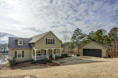 Clay County, Cleburne County, Randolph County Single Family Home For Sale: 160 Red Eye Ln