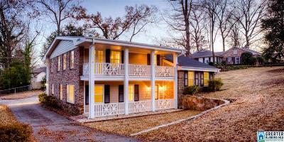 Mountain Brook AL Single Family Home For Sale: $450,000