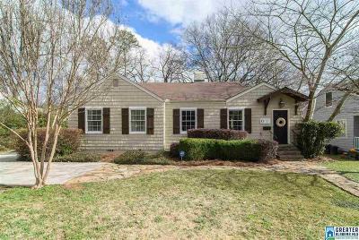 Homewood AL Single Family Home For Sale: $419,900