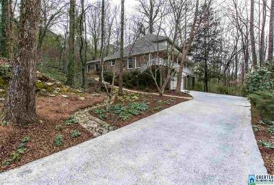 Mountain Brook Single Family Home For Sale: 3532 Rockcliff Cir