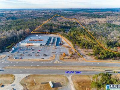 Residential Lots & Land For Sale: +/- 32 Acres Hwy 280