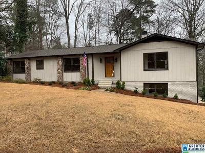 Vestavia Hills Single Family Home For Sale: 3501 Oakdale Dr