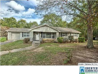 Pell City Single Family Home For Sale: 1800 Martin St