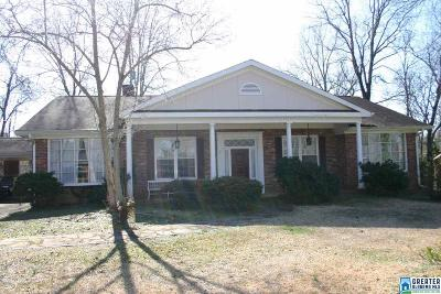 Anniston Single Family Home For Sale: 4 Windsor Cir