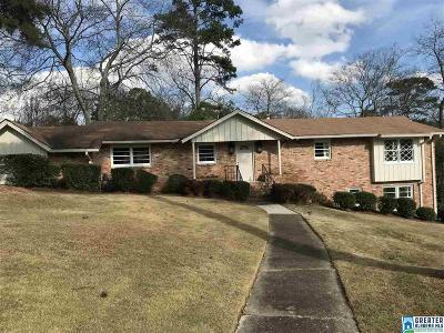 Mountain Brook Single Family Home For Sale: 3621 Spring Valley Rd