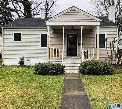 Birmingham Single Family Home Contingent: 924 47th St N