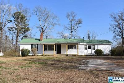Clay County, Cleburne County, Randolph County Single Family Home For Sale: 975 Co Rd 663