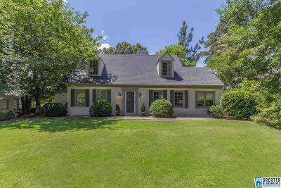 Homewood AL Single Family Home For Sale: $599,000