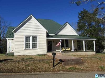 Clay County, Cleburne County, Randolph County Single Family Home For Sale: 512 1st Ave