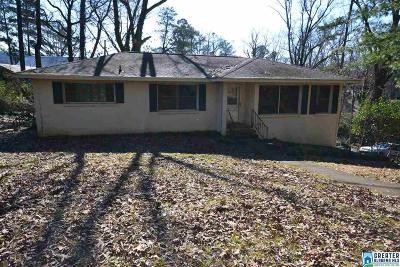Homewood Single Family Home For Sale: 501 Tamworth Ln