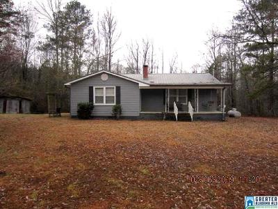 Clay County, Cleburne County, Randolph County Single Family Home For Sale: 465 Hurricane Rd