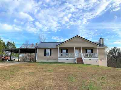 Heflin Single Family Home For Sale: 1262 Co Rd 60