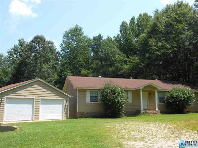 Single Family Home For Sale: 185 Coosa Cedars Ln
