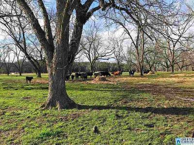 Calhoun County, Chambers County, Clay County, Cleburne County, Coosa County, Randolph County, Talladega County, Tallapoosa County Farm For Sale: 390 Limbaugh Rd