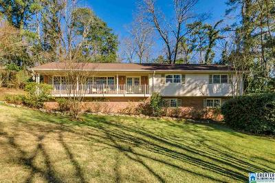 Mountain Brook Single Family Home For Sale: 3656 Oakdale Rd