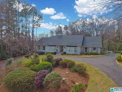 Mountain Brook Single Family Home For Sale: 3537 Spring Valley Ct