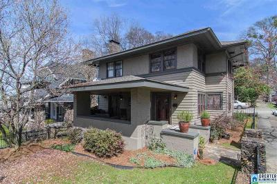 Birmingham Single Family Home For Sale: 2900 10th Ave S