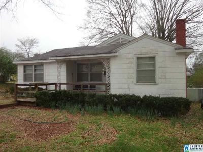 Talladega Single Family Home For Sale: 727 Glenwood Rd