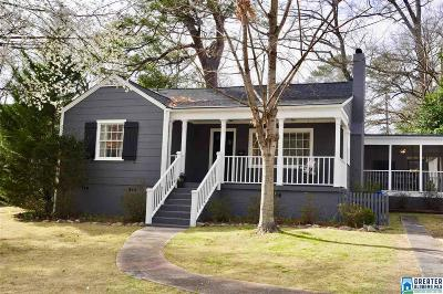 Homewood Single Family Home For Sale: 542 Broadway St