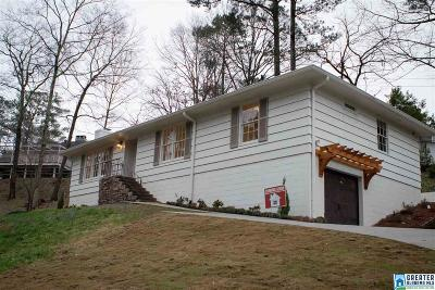 Mountain Brook Single Family Home For Sale: 3908 Glencoe Dr