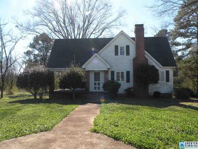 Talladega Single Family Home For Sale: 65325 Hwy 77