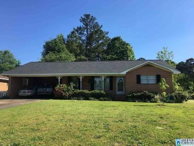 Roanoke AL Single Family Home For Sale: $124,900
