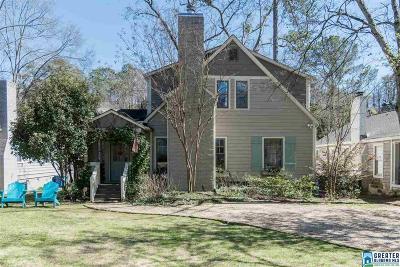 Homewood AL Single Family Home For Sale: $585,000